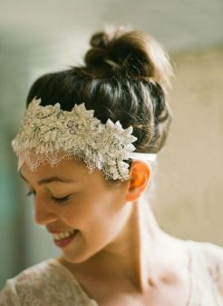 70+ Best Wedding lace headpiece Ideas 43