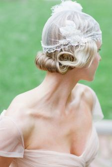 70+ Best Wedding lace headpiece Ideas 44