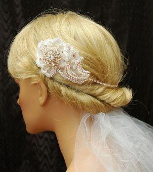 70+ Best Wedding lace headpiece Ideas 45
