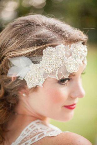 70+ Best Wedding lace headpiece Ideas 47