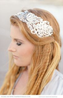 70+ Best Wedding lace headpiece Ideas 52