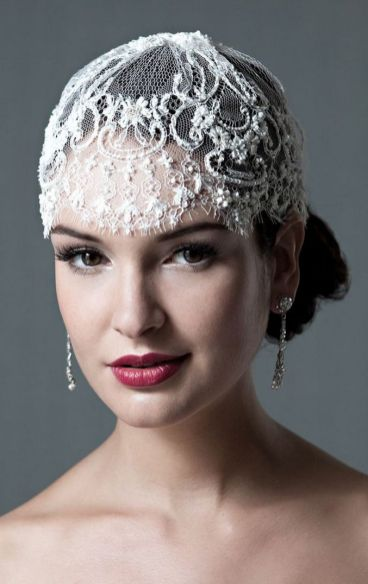 70+ Best Wedding lace headpiece Ideas 54