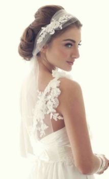70+ Best Wedding lace headpiece Ideas 58