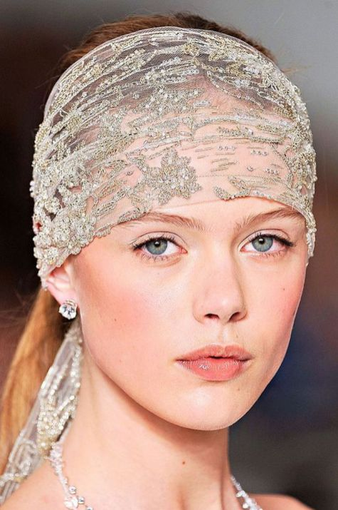 70+ Best Wedding lace headpiece Ideas 59