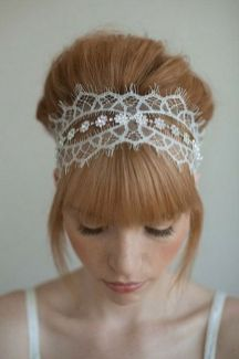 70+ Best Wedding lace headpiece Ideas 65