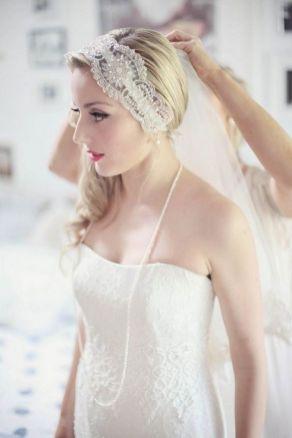 70+ Best Wedding lace headpiece Ideas 70