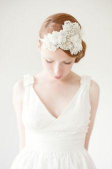 70+ Best Wedding lace headpiece Ideas 71