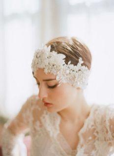 70+ Best Wedding lace headpiece Ideas 78