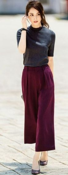 Beautiful Square Pants Outfit Ideas 11