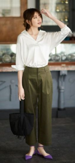 Beautiful Square Pants Outfit Ideas 12