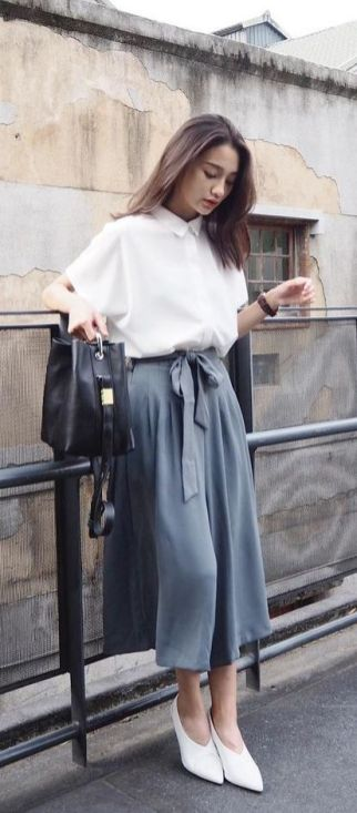 Beautiful Square Pants Outfit Ideas 35