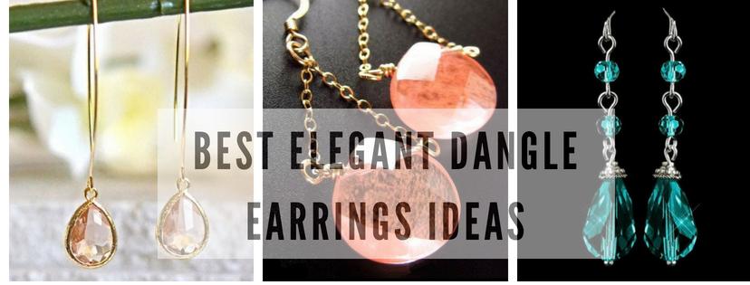Best Elegant Dangle Earrings Ideas