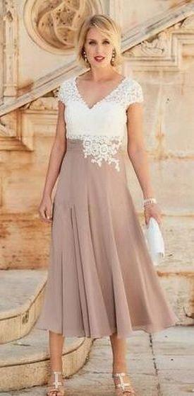 Best wedding dresses for mom of bride idea 12