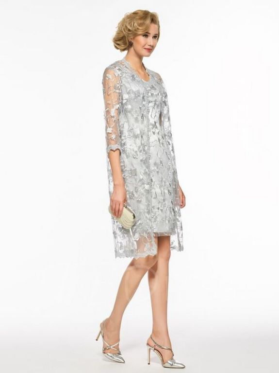 Best wedding dresses for mom of bride idea 13