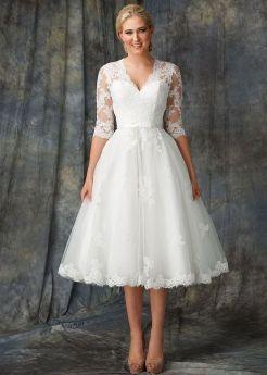 Best wedding dresses for mom of bride idea 3