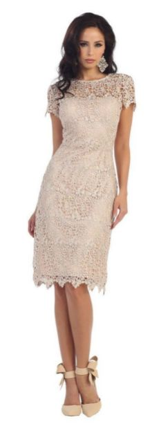 Best wedding dresses for mom of bride idea 7