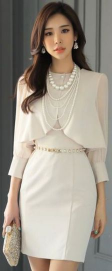 Great Pearl Necklace Outfit Ideas 70+ 25