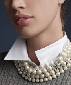 Great Pearl Necklace Outfit Ideas 70+ 26