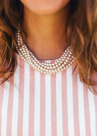 Great Pearl Necklace Outfit Ideas 70+ 33