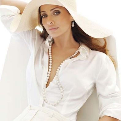 Great Pearl Necklace Outfit Ideas 70+ 46