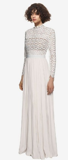 Top wedding dresses high street 53
