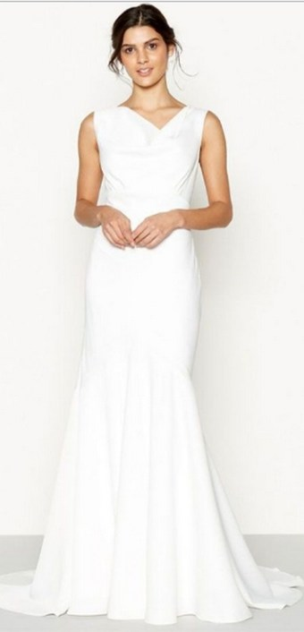 Top wedding dresses high street 57