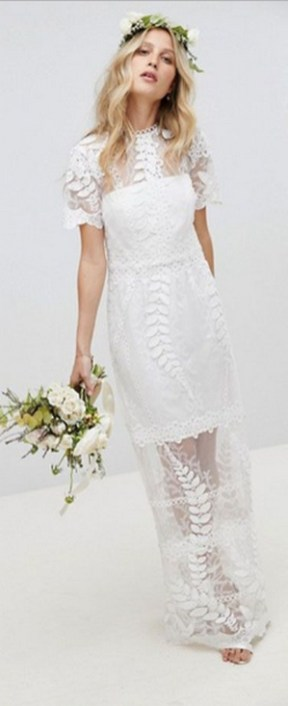 Top wedding dresses high street 58