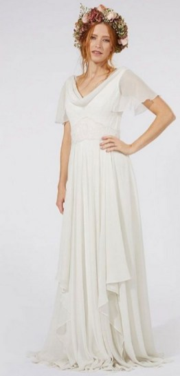 Top wedding dresses high street 61