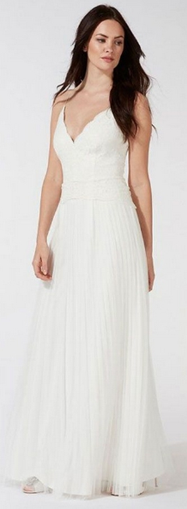 Top wedding dresses high street 65
