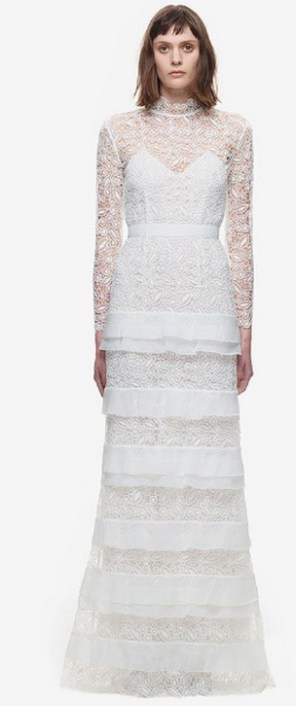 Top wedding dresses high street 72