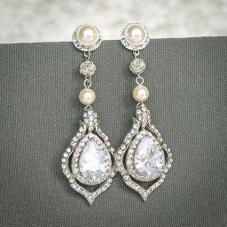 elegant dangle earrings 17