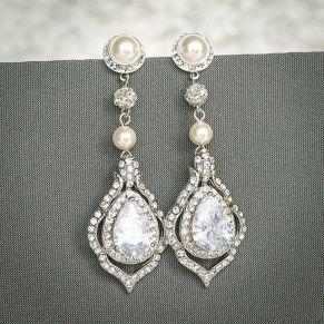 elegant dangle earrings 17