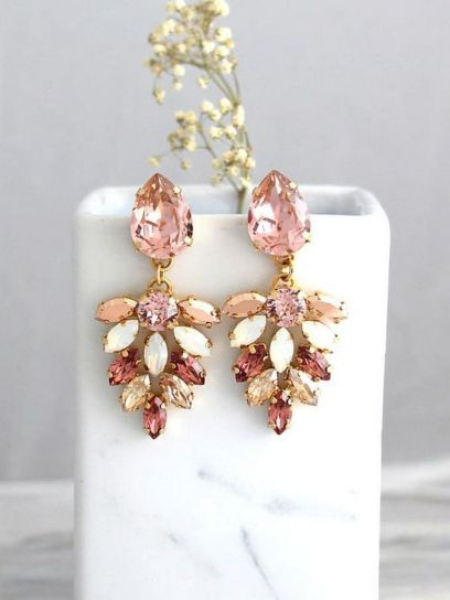 elegant dangle earrings 24