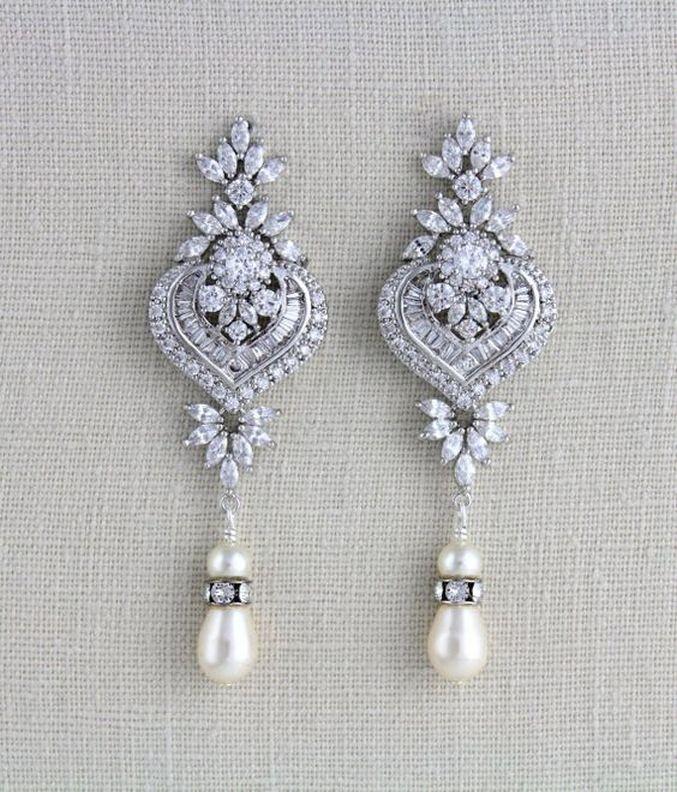 elegant dangle earrings 33