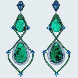 elegant dangle earrings 39