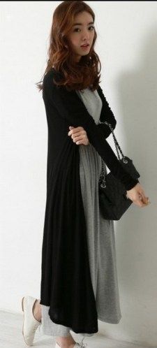17 extra long black cardigan ideas 1