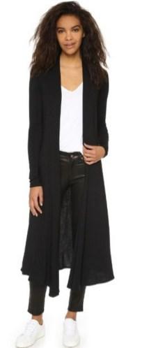 17 extra long black cardigan ideas 3