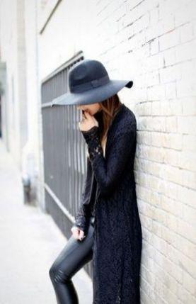 17 extra long black cardigan ideas 7