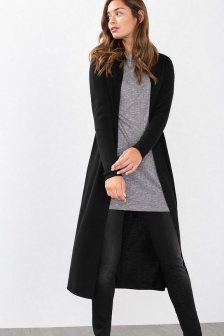 17 extra long black cardigan ideas 9