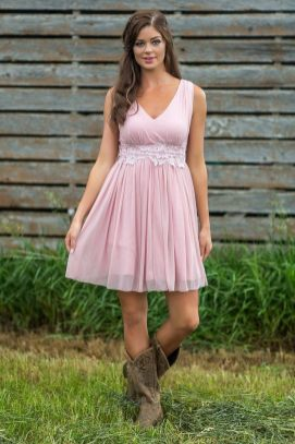 20 Best country western dresses for weddings 14