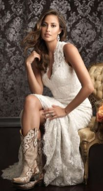 20 Best country western dresses for weddings 22