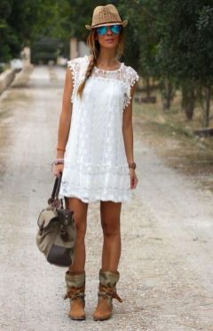 20 Best country western dresses for weddings 24