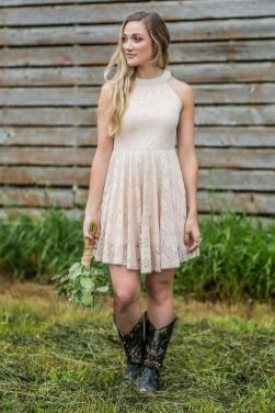 20 Best country western dresses for weddings 6