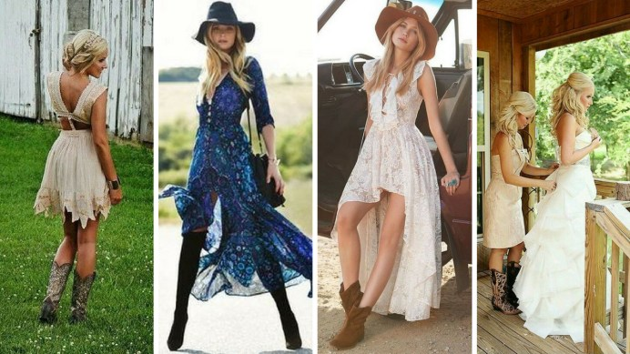 20 Best country western dresses for weddings