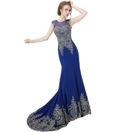 20 Elegant long prom dress sexy sweetheart mermaid party dresses 16