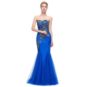 20 Elegant long prom dress sexy sweetheart mermaid party dresses 17
