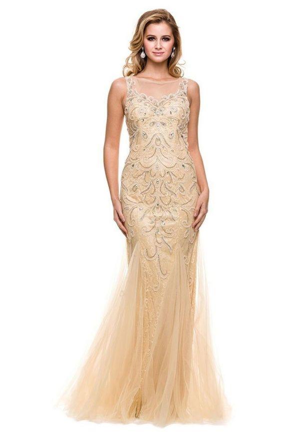 20 Gold Prom Dresses Flower ideas 14