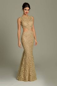 20 Gold Prom Dresses Flower ideas 15 1