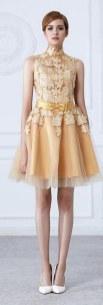 20 Gold Prom Dresses Flower ideas 16