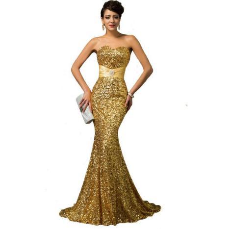20 Gold Prom Dresses Flower ideas 17